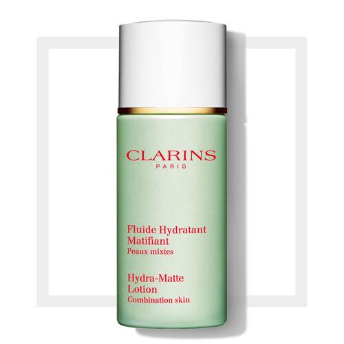 fluide hydratant matifiant cr me matifiante soin du visage clarins. Black Bedroom Furniture Sets. Home Design Ideas