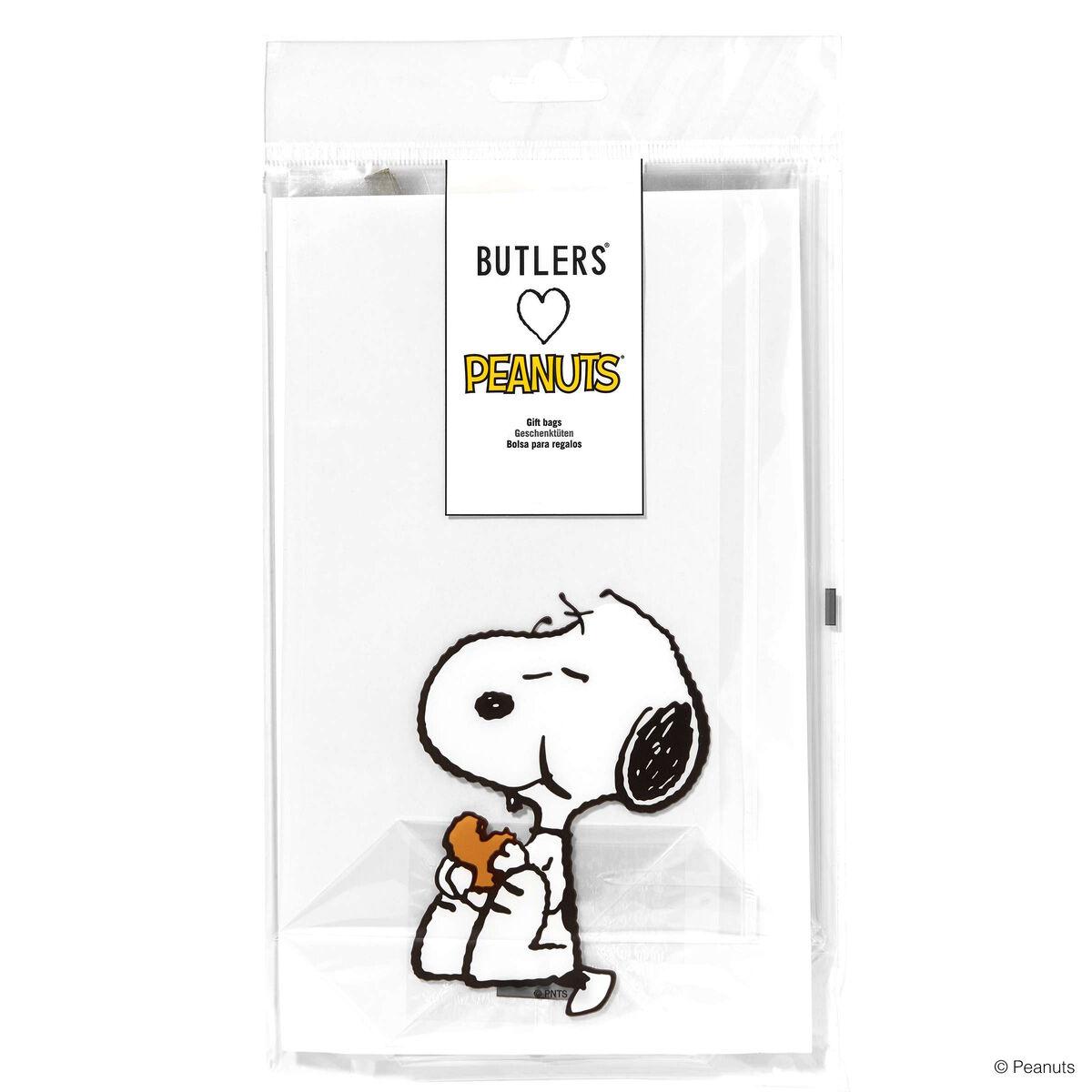 PEANUTS Klarsichtbeutel Snoopy Keks  BUTLERS