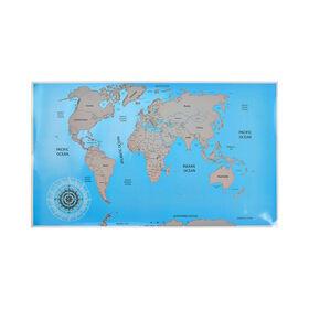 GLOBETROTTER Weltkarte zum Freirubbeln