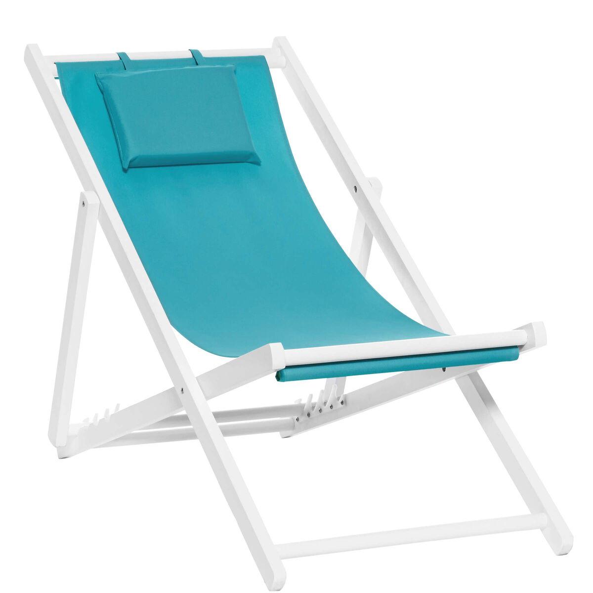BEACH BOY Strandstuhl blau