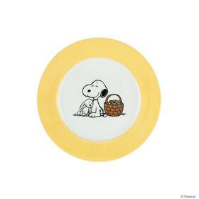 PEANUTS Teller Snoopy Ostern gelb