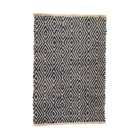 NATIVE HOME Teppich Karos 60x90 cm