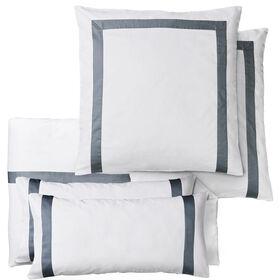 NEW HAVEN Bettwäsche Set weiß-grau