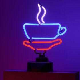 COFFEE Neon-Leuchte Kaffeetasse
