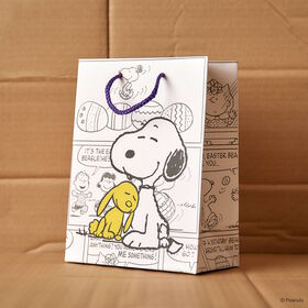 PEANUTS Geschenktasche Snoopy und Hase