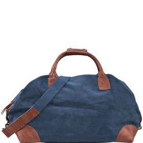 TRAVELLER Canvas Tasche blau