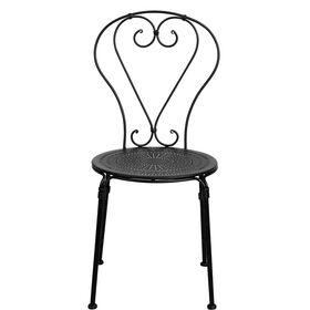 PALAZZO Stuhl matt schwarz