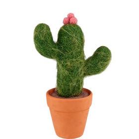 MEXICO Kaktus aus Filz. 16cm