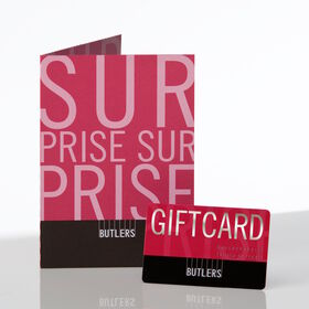 SURPRISE SURPRISE Giftcard D