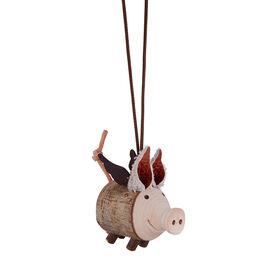 ANGELO Glücksschweinchen aus Holz