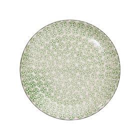 RETRO Essteller Ø 25,4 cm grün