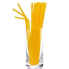 TWIST&DRINK&SHOUT Trinkhalme gelb 100St