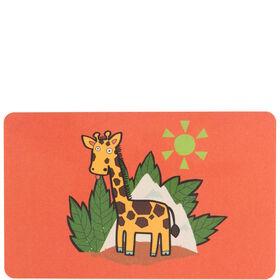 WILD THINGS Frühstücksbrett Giraffe