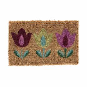 TULIP Fußmatte Tulpen bunt klein