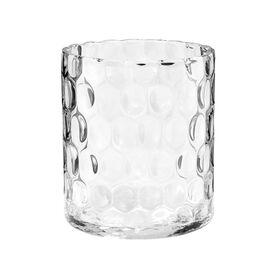 AGATA Zylinder Vase mit Struktur 17cm