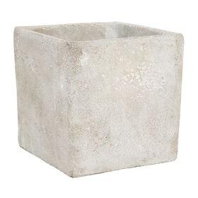 FLORAL BASIC Beton-Pflanztopf eckig,16cm