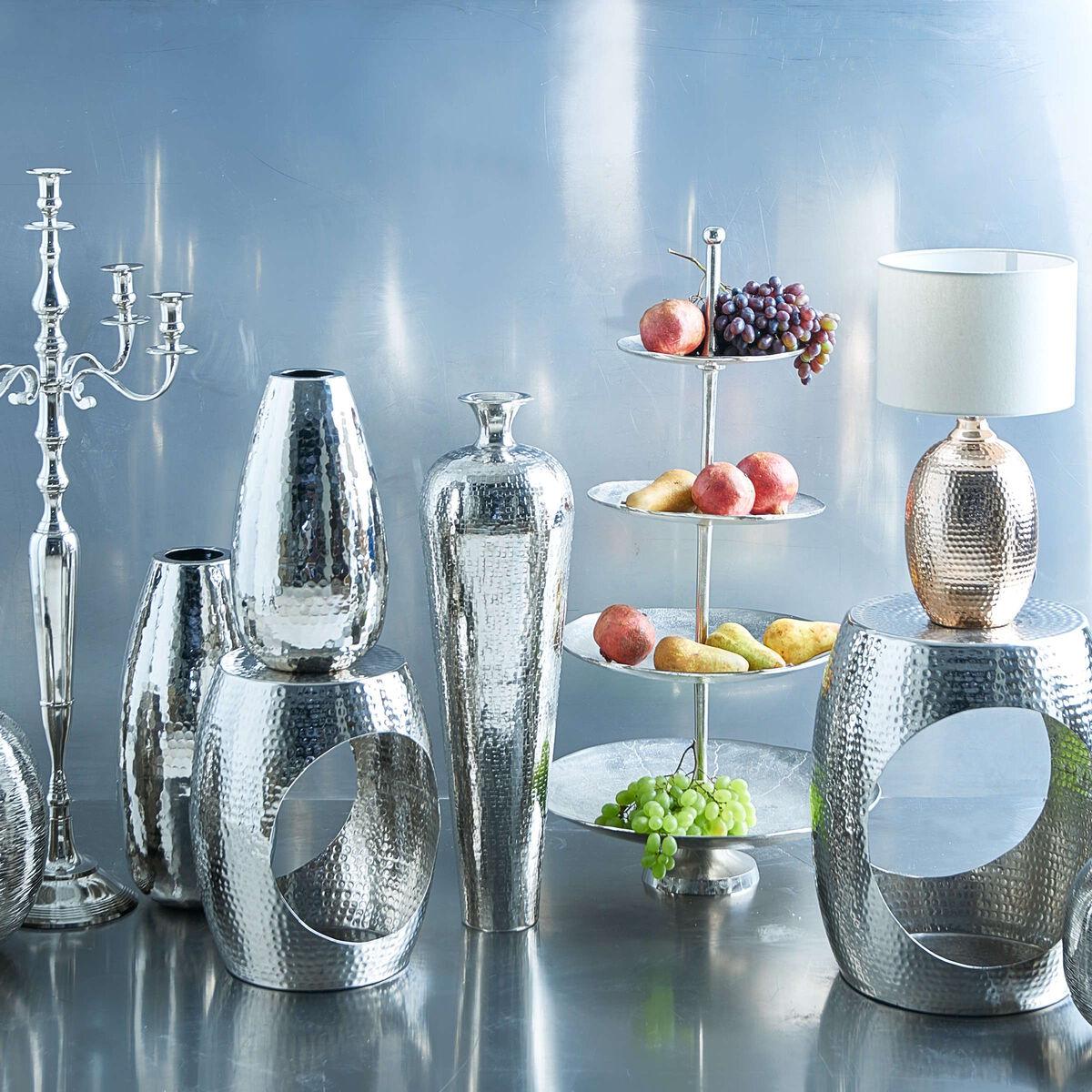 NEELA Vase H40 D20cm, Aluminium