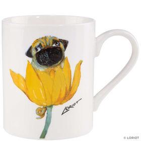 LORIOT Kaffeetasse Mops