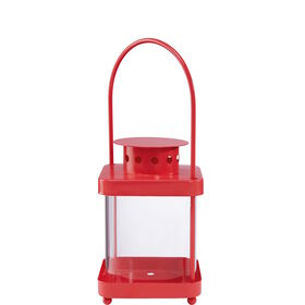 LIGHTHOUSE Laterne 17cm, rot
