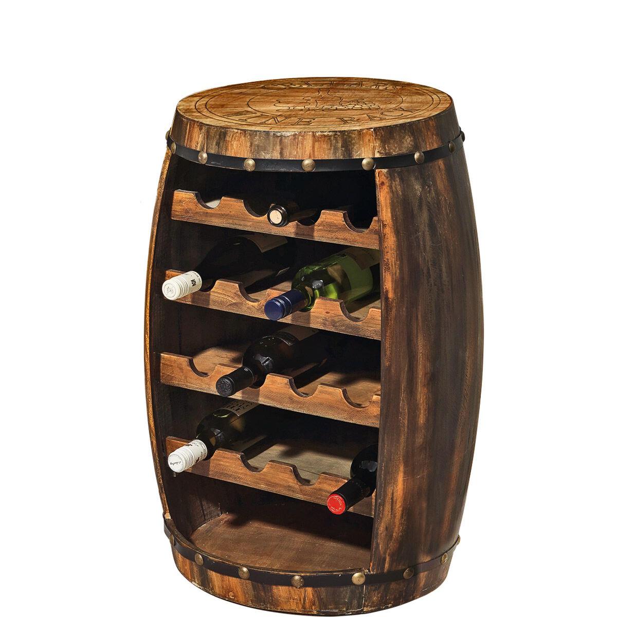 miavilla flaschenregal f r 16 weinflaschen butlers. Black Bedroom Furniture Sets. Home Design Ideas