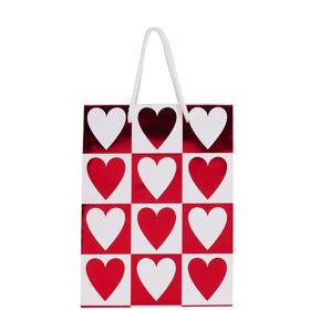 HEART TO HEART Geschenktasche Doppelherz