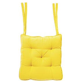 SOLID Sitzkissen 35x37 gelb