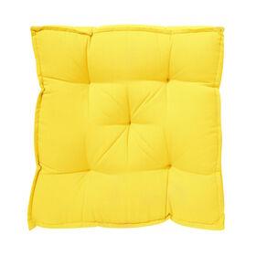 SOLID Sitzauflage 40x40 gelb
