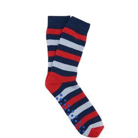 COZY SOCKS Socke Streifen rot/blau 35-38