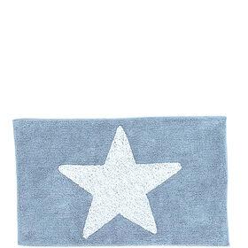 MIAVILLA Badematte Star blau 70 x 120 cm
