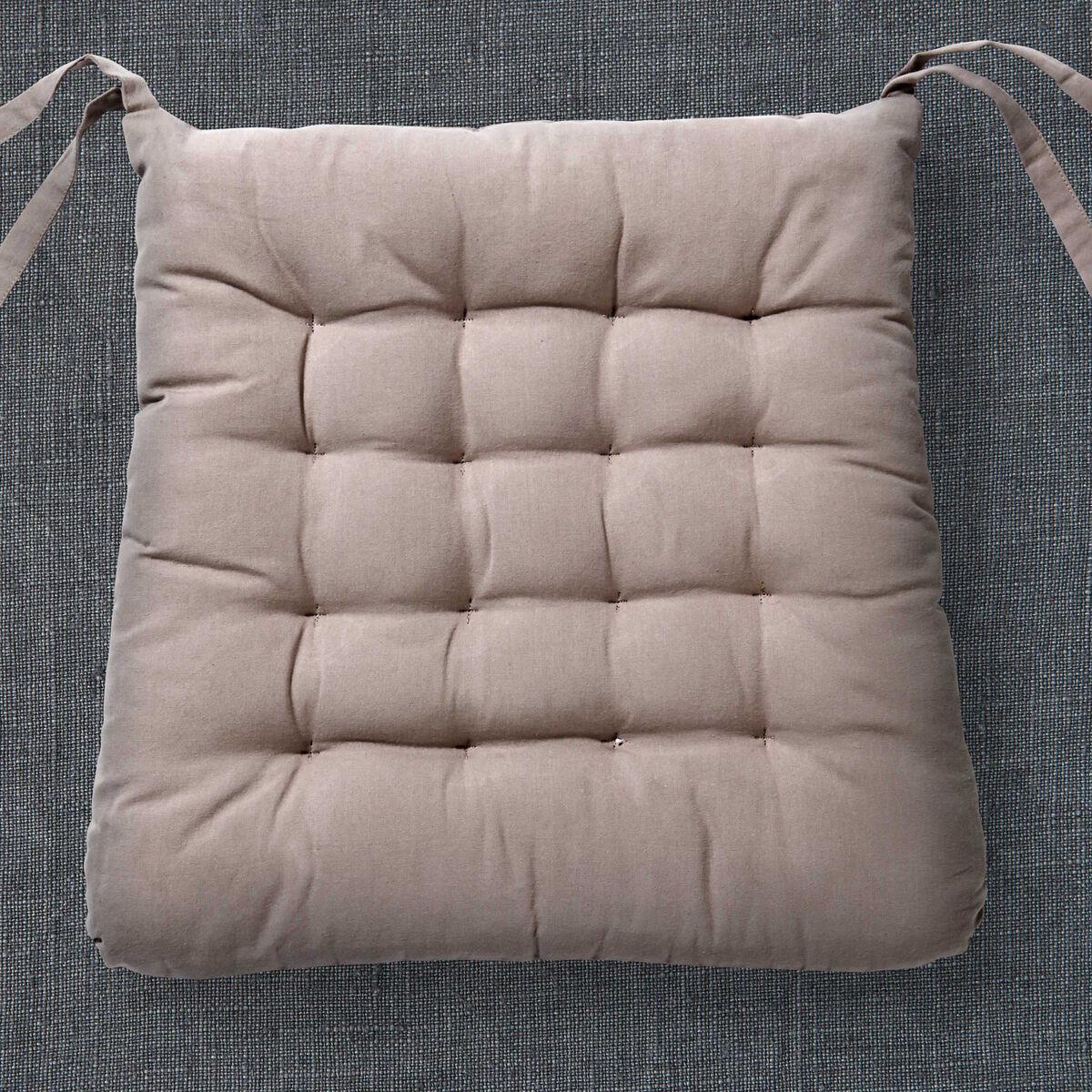 solid stuhlkissen trapezf rmig mit b ndern butlers. Black Bedroom Furniture Sets. Home Design Ideas