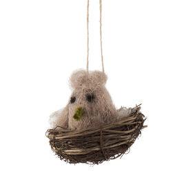 EASTER Anhänger Nest mit Vogel