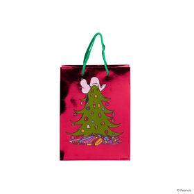 PEANUTS Geschenktasche Snoopy/Baum kl