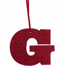 """HAPPY GIFT Glitzerbuchstabe """"G"""""""