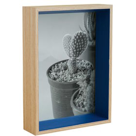 PICTURE IT Bilderrahmen MDF 15x20 blau