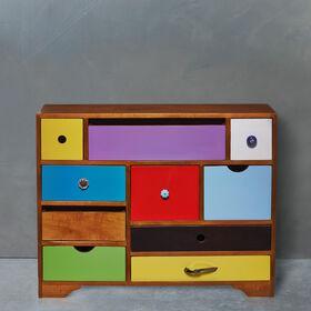 MODERN ARTIST Kommode mit 10 Schubladen