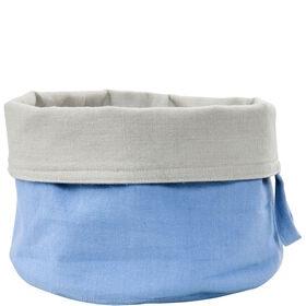 SPHERE Brotkorb Baumwolle pastell blau