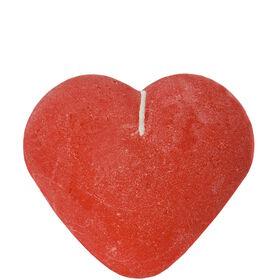 HEART Herzkerze rot, 11cm