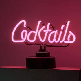 COCKTAILS Neon-Leuchte Cocktails
