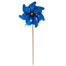 WINDY Windrad blau glänzend 75 cm