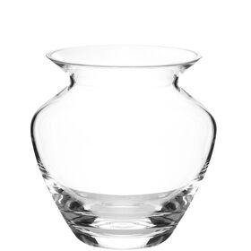 ALINA bauchige Vase 16cm klar