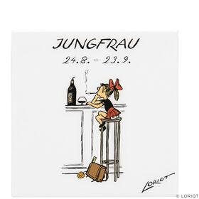 LORIOT Kühlschrankmagnet Jungfrau