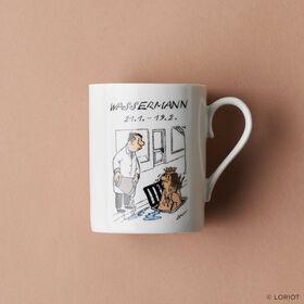 LORIOT Kaffeetasse Wassermann