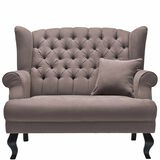 GRAND DUC Sessel Taupe