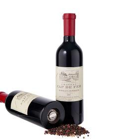 WINE Pfeffermühle Rotweinflasche