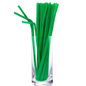 TWIST&DRINK&SHOUT Trinkhalme grün 100Stk