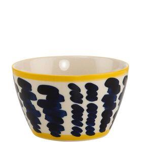 ELECTRIC BLOSSOM Schale blau/gelb 300ml