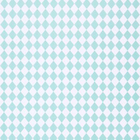 SURPRISE Geschenkpapier Rauten mint/weiß