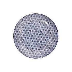 RETRO Frühstücksteller Ø 20,3 cm blau