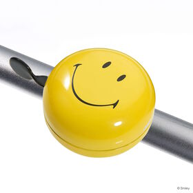 SMILEY Fahrradklingel 80mm, gelb
