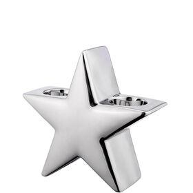 SILVER STONE Teelichthalter Stern 15 cm